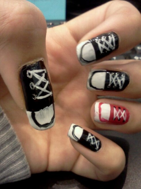 Converse Nail Art Love Those Nails